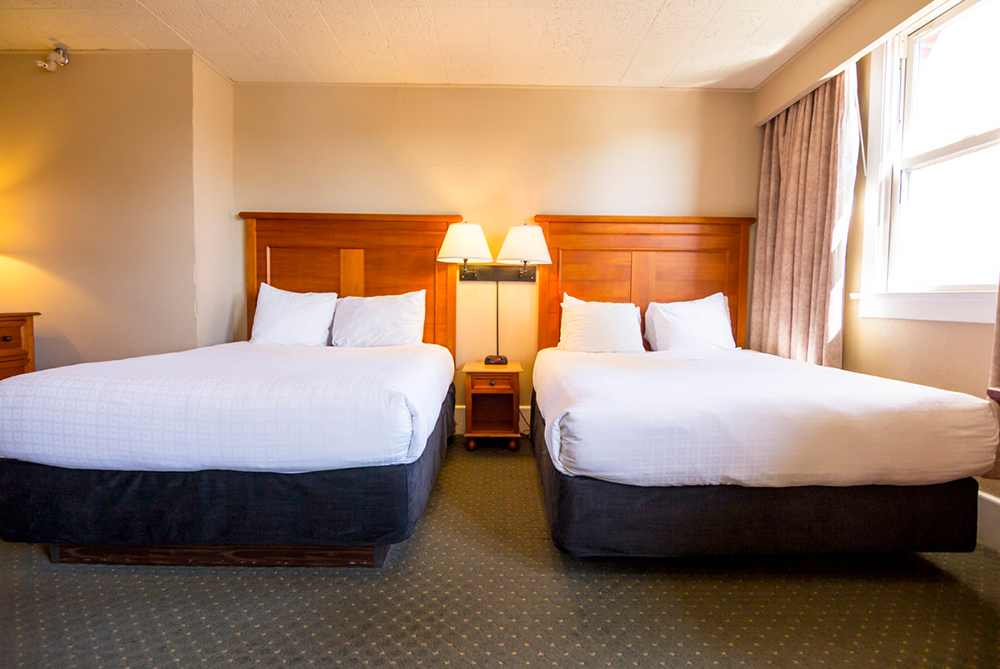 Two Queen Beds The Sylvia Hotel